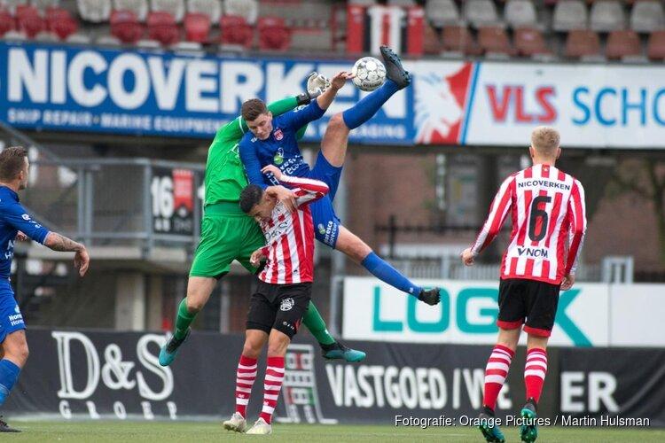 Jong Sparta met ruime cijfers langs Noordwijk