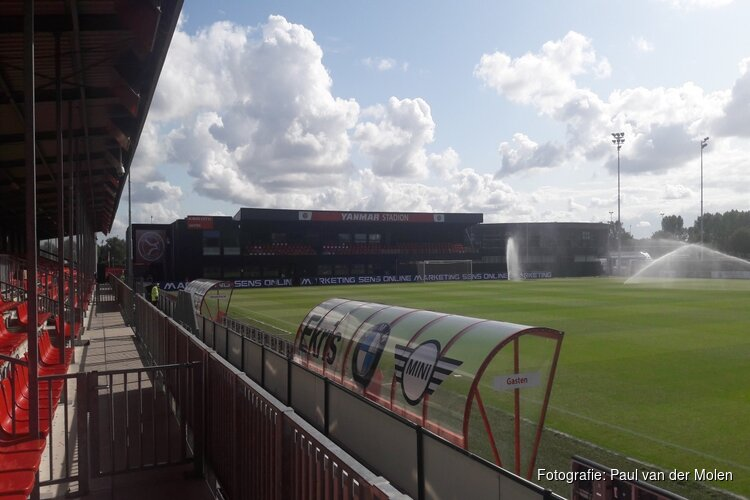 Jong Almere City in slotfase langs VVSB