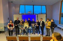 Leerlingen Northgo College aan de slag met toekomstvisie Noordwijk