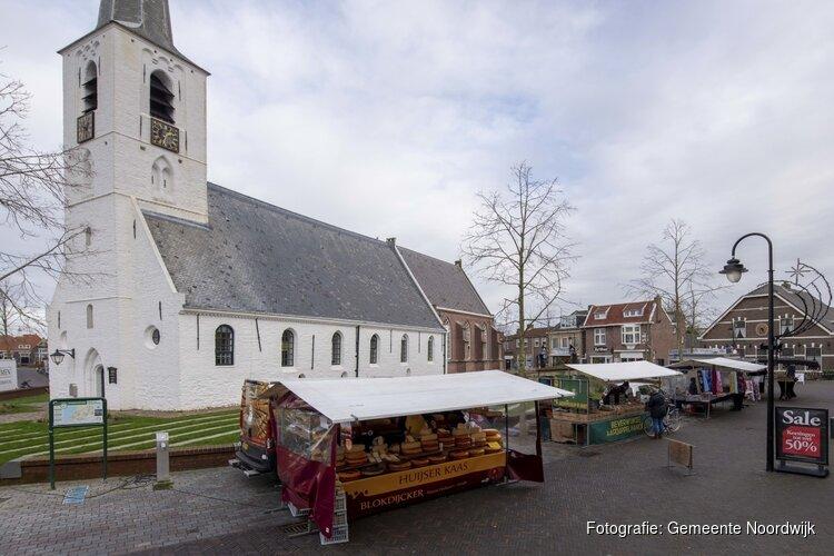 Weekmarkt Noordwijkerhout definitief op dorpsplein Witte Kerk