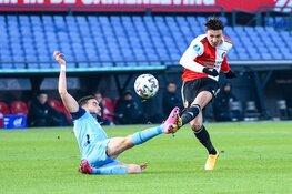 Feyenoord komt goed weg met gelijkspel tegen FC Utrecht
